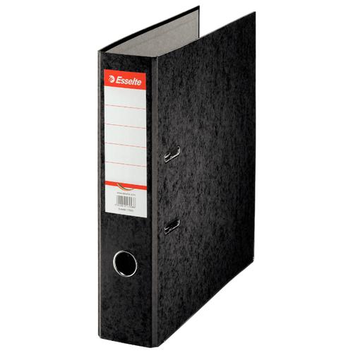 Esselte Папка-регистратор Rainbow, A4, 75 мм черный по цене 362