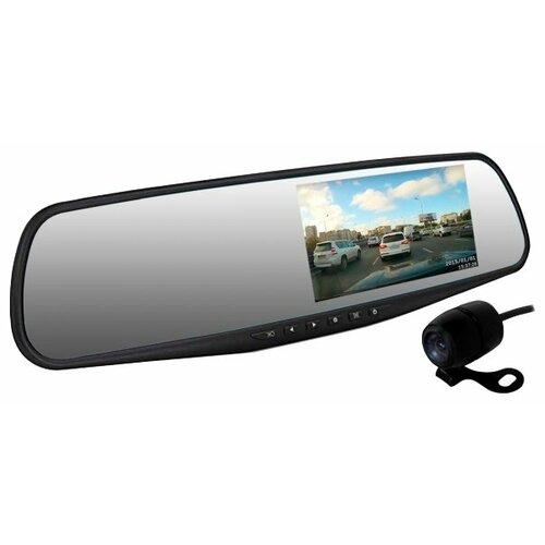 Видеорегистратор Dunobil Spiegel Duo, 2 камеры черный