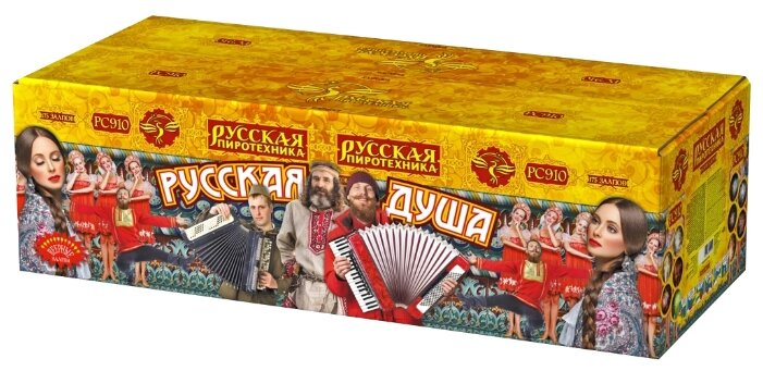 Фейерверк-гигант Русская душа