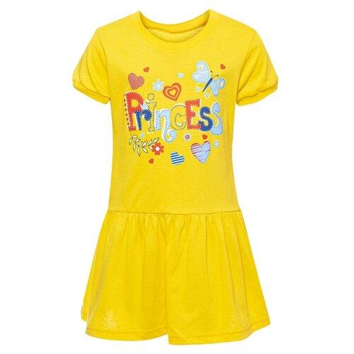 Платье M&D размер 104, желтый