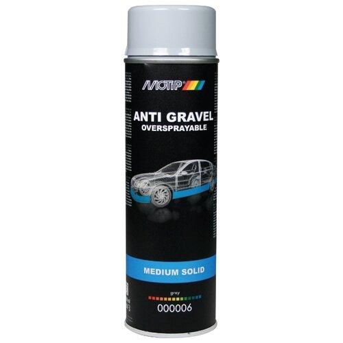 Жидкий антигравий MOTIP Anti Gravel Medium Solid серый 0.5 л баллончик