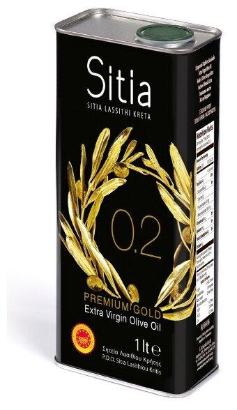 Sitia Масло оливковое Extra Virgin 0,2%, жестяная банка