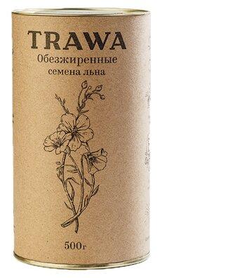 Семена льна Trawa обезжиренные 500 г