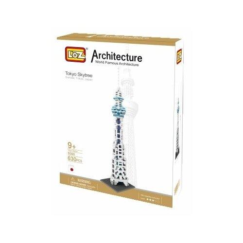 Купить Конструктор LOZ Architecture 9366 Токийское небесное дерево, Конструкторы