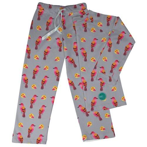 Купить Пижама Marengo Textile размер 140, серый/розовый, Домашняя одежда