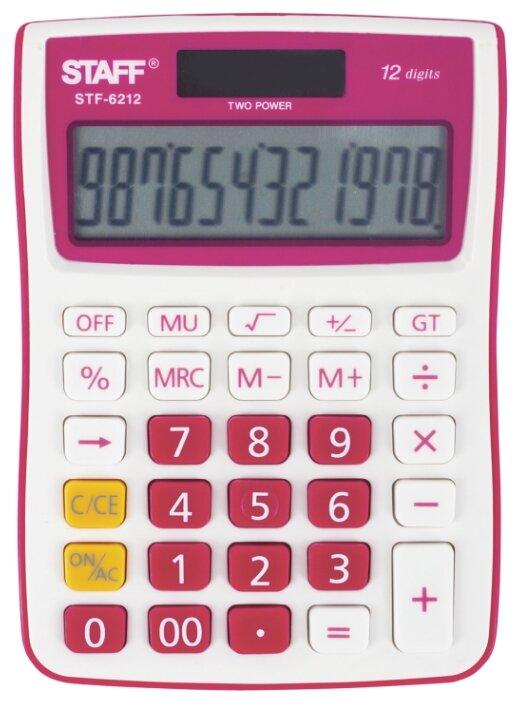 Калькулятор бухгалтерский STAFF STF-6212