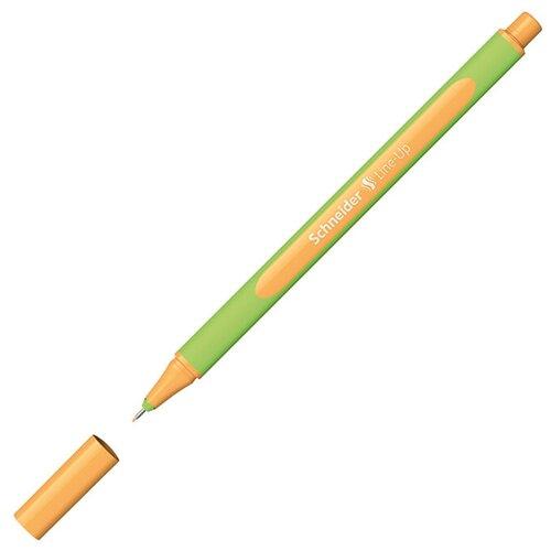 Schneider Ручка капиллярная Line-Up, 0.4 мм, неон оранжевый цвет чернил