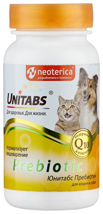 Добавка в корм Unitabs Prebiotic для кошек