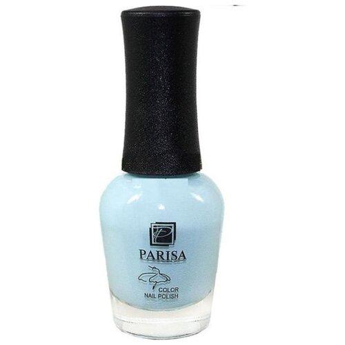 Лак Parisa Ballet, 16 мл, оттенок №22 небесно голубой матовый раper art белоснежный и небесно голубой