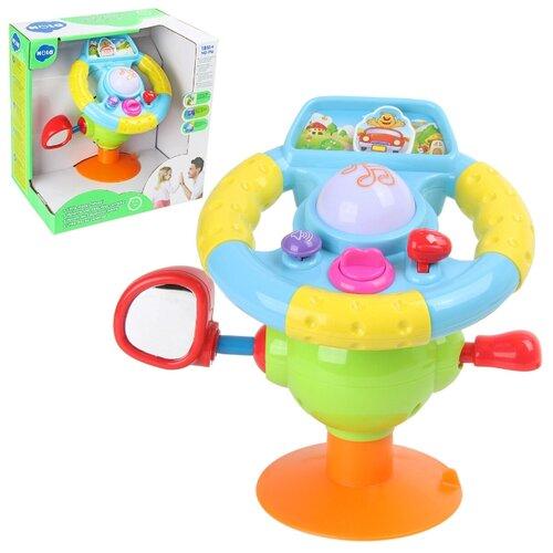 Купить Игровой развивающий центр Veld co 49377 Руль , музыкальный эффект., Развивающие игрушки