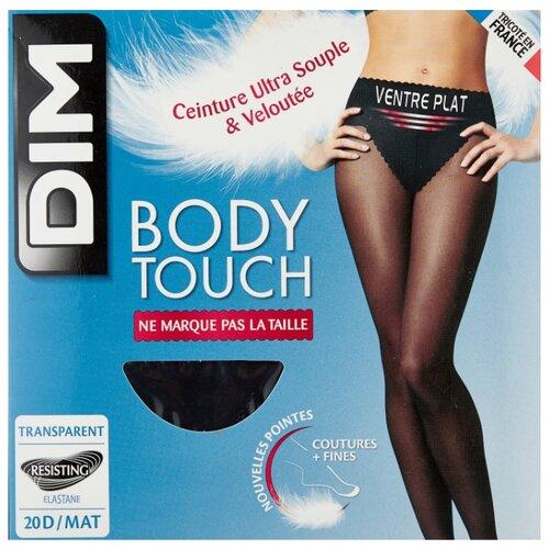 Колготки DIM Body Touch Ventre Plat 20 den, размер 3, noir (черный) колготки dim body touch ventre plat 20 den размер 1 peau doree бежевый