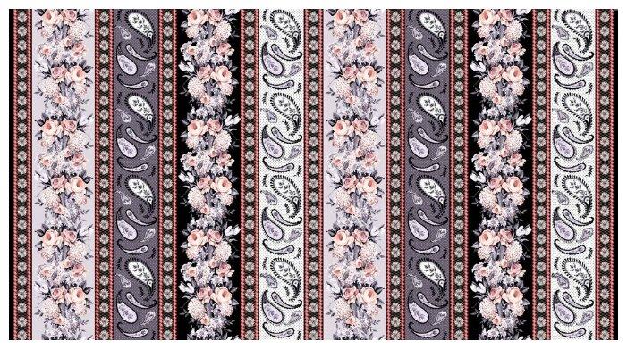 Ткани фасованные PEPPY (P - W) для пэчворка 4801/18 ФАСОВКА 60 x 110 см 144±5 г/кв.м 100% хлопок 725
