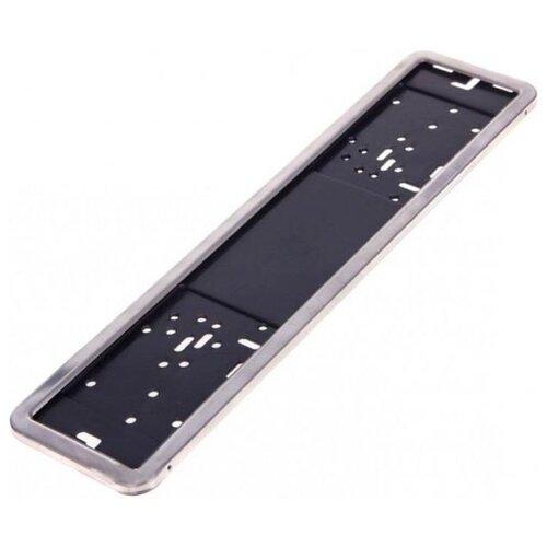 Рамка для номера A2DM GT-1070/40 (RNN01) серебристый 1 шт.
