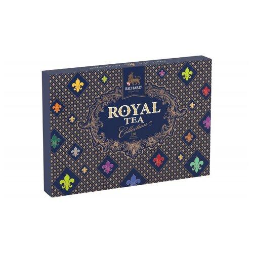 Чай Richard Royal tea collection ассорти в пакетиках подарочный набор , 230 г , 120 шт. чай листовой richard royal ceylon dogs