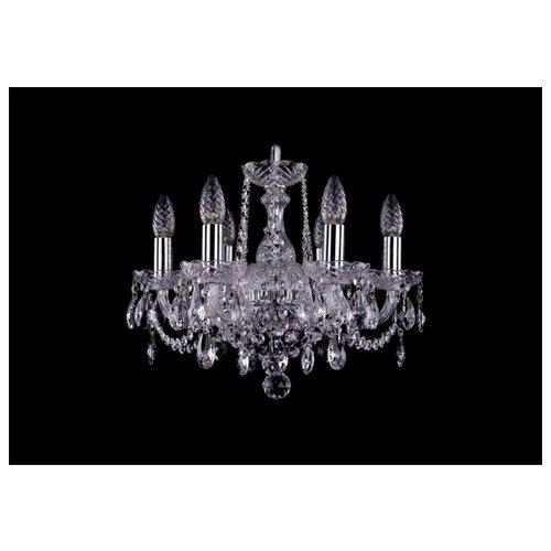 Люстра Bohemia Ivele Crystal 1402 1402/6/141/Ni, E14, 240 Вт часы 14 6 см crystal bohemia