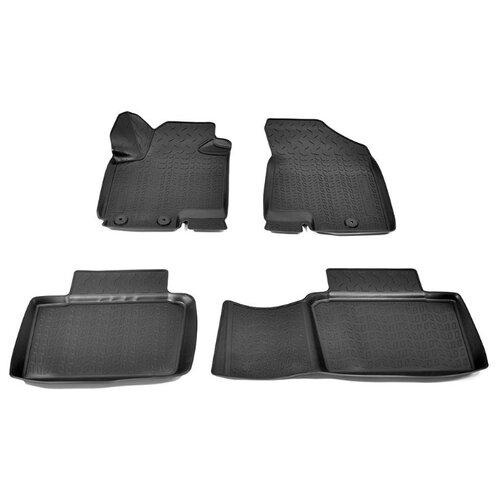 Комплект ковриков NorPlast NPA11-C13-155 Changan CS35 4 шт. черный