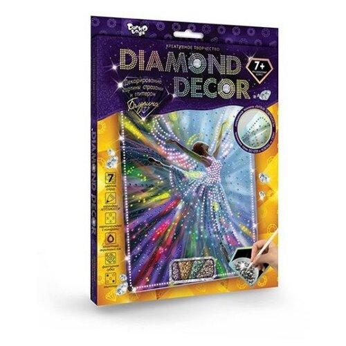 Купить Danko Toys Набор алмазной вышивки Diamond Decor Балерина (DD-01-02), Алмазная вышивка