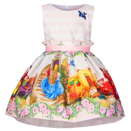 Платье Stilnyashka размер 110, розовый/золушка