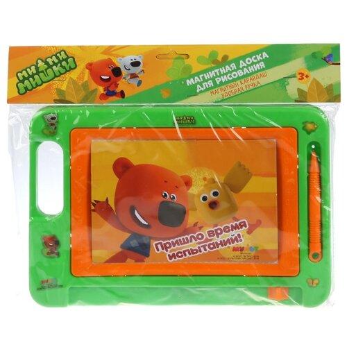 Купить Доска для рисования детская Играем вместе Ми-ми-мишки (B1703186-MIMI) зеленый/оранжевый, Доски и мольберты