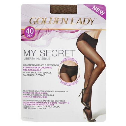 Колготки Golden Lady My Secret 40 den, размер 3-M, daino (бежевый) laurie grant my lady reluctant