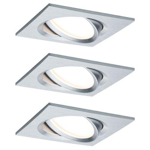 Встраиваемые светильники Nova Plus Coin dim ek schw 3x6,8W A 93680