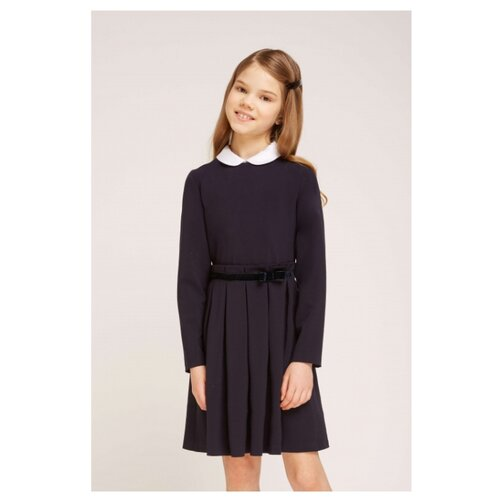 Платье Смена размер 146/72, синий