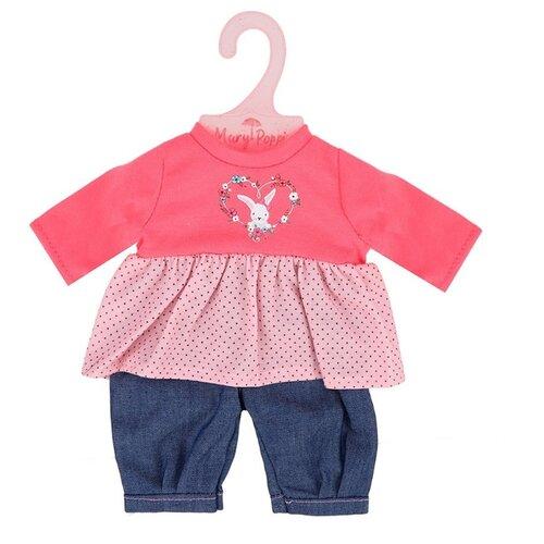 Mary Poppins Комплект одежды для кукол 38-43 см 452148 красный/синий