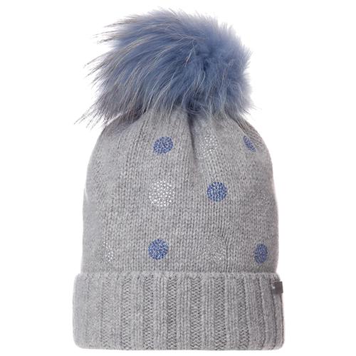 Шапка Trestelle размер 54/56, серый/синий шапка ignite цвет серый 018 hiphop stripe размер 54 56