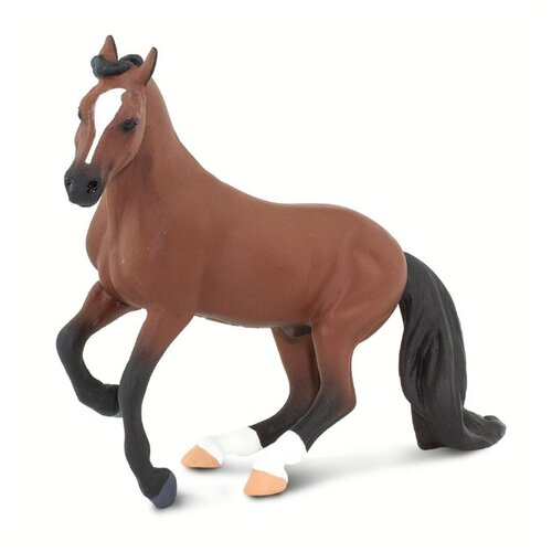 Фигурка Safari Ltd Winner's Circle Horses Чистокровная верховая лошадь 100092 our generation лошадь породы американская чистокровная с аксессуарами