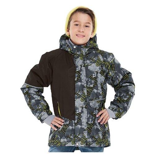 Купить Куртка Oldos Эдвард AAW201T1JK45 размер 140, серый, Куртки и пуховики