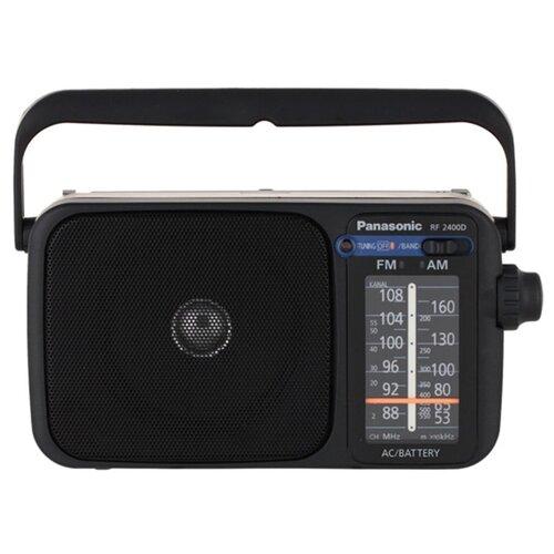 Радиоприемник Panasonic RF-2400DEE-K черный аккумулятор panasonic vw vbt380e k черный