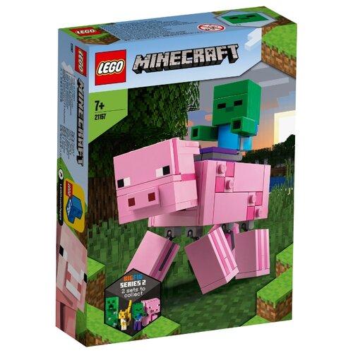 Купить Конструктор LEGO Minecraft 21157 Свинья и Зомби-ребёнок, Конструкторы