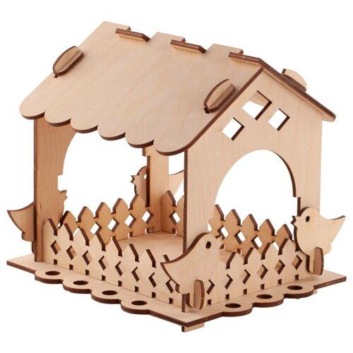 Купить Сборная модель LORI Кормушка для птиц. Набор №1, Сборные модели