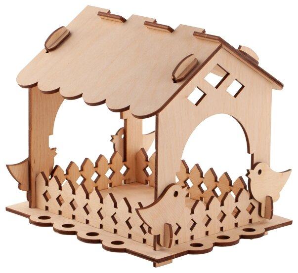 Сборная модель LORI Кормушка для птиц. Набор №1