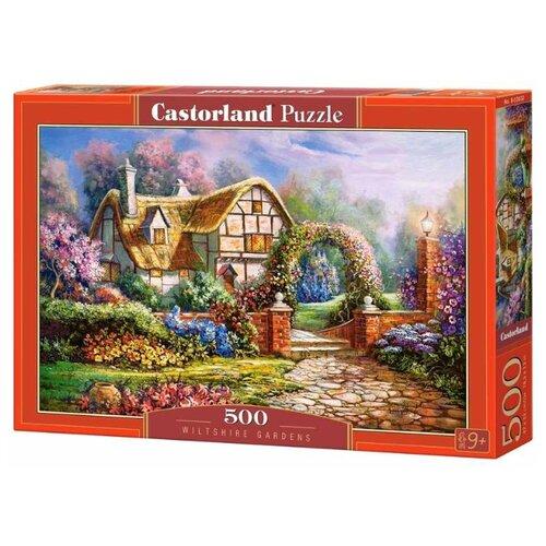 Купить Пазл Castorland Wiltshire Gardens (B-53032), 500 дет., Пазлы
