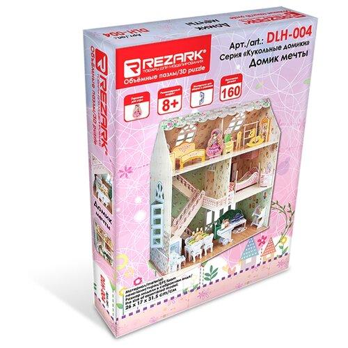 Купить Сборные модели (пенополистирол) REZARK DLH-004 Серия Кукольные домики Домик мечты