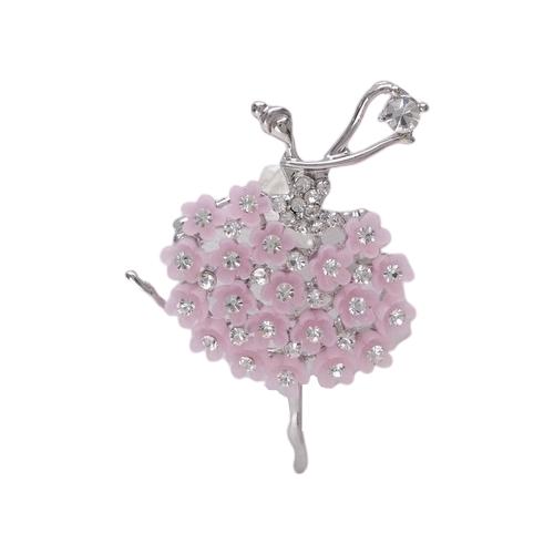 Queen fair Брошь Балерина женственность 4243433