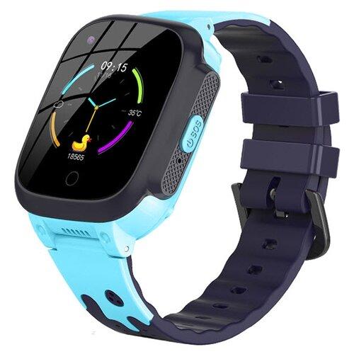 Детские умные часы Smart Baby Watch T8, голубой часы smart baby watch s4 голубой