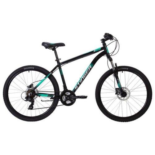 Горный (MTB) велосипед Stinger Element Pro 26 (2020) зеленый 18 (требует финальной сборки) велосипед kross level replica pro 2017