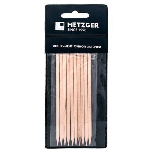 Metzger Апельсиновая палочка для маникюра, 10 шт. бежевый