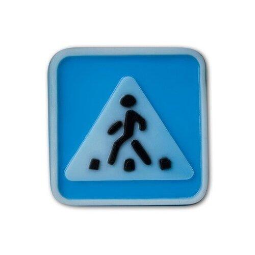 Купить Форма для мыла Выдумщики.ru Знак Пешеходный переход пластик, Формы для мыла