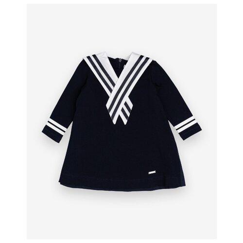 Купить Платье Gulliver Baby размер 86, синий, Платья и юбки