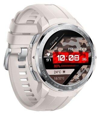 Умные часы HONOR Watch GS Pro (silicone strap), бежевый меланж фото 1