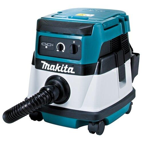Профессиональный пылесос Makita DVC860LZ 320 Вт синий/белый/черный