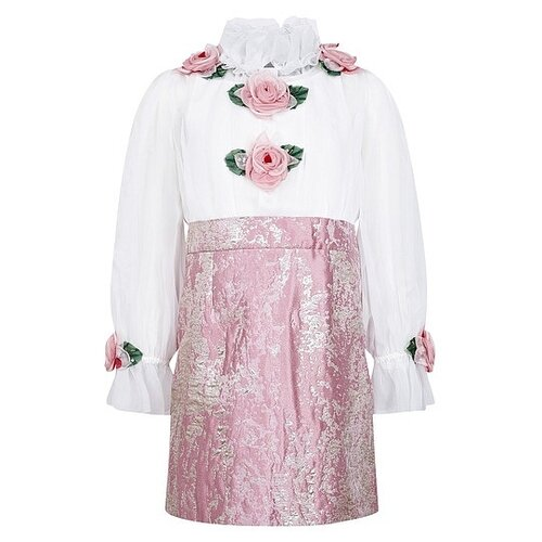Платье DOLCE & GABBANA размер 140, розовый