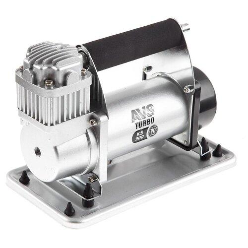 Автомобильный компрессор AVS KS900 серебристый
