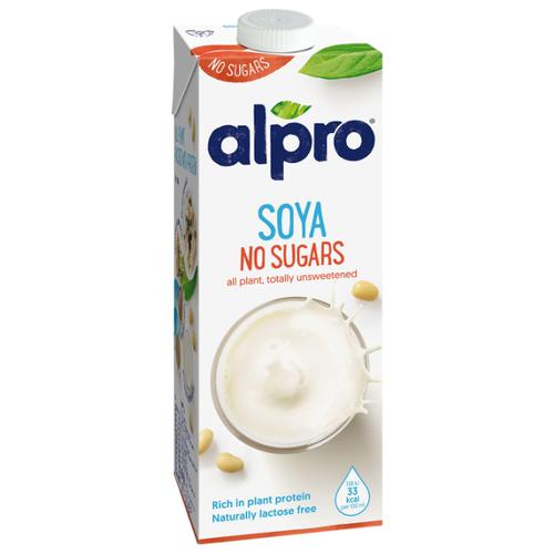 Соевый напиток alpro без содержания сахара 1 л