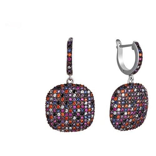 JV Серебряные серьги с кубическим цирконием BE5521-004-WG