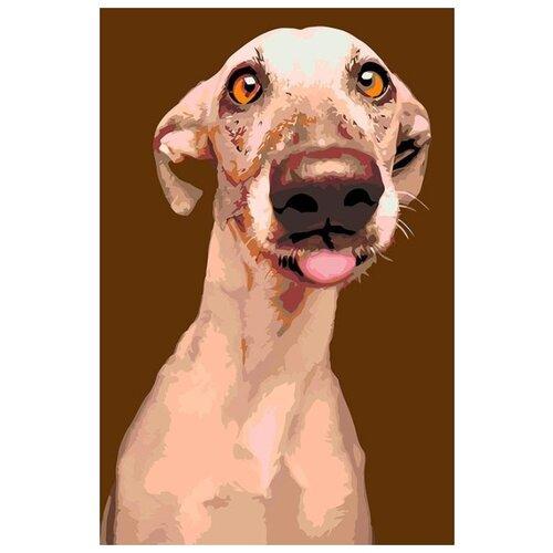 Купить Картина по номерам Живопись по Номерам Верный друг , 40x60 см, Живопись по номерам, Картины по номерам и контурам