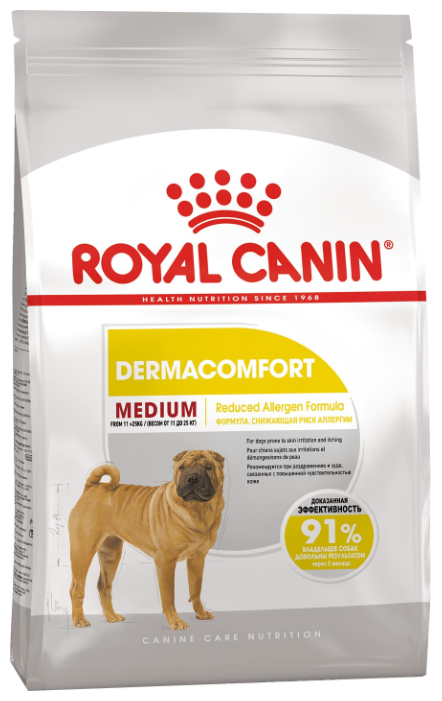 Корм для собак Royal Canin Medium Dermacomfort